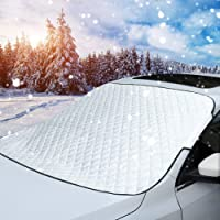 $21 » MITALOO Car Windshield Snow Cover, Ice Removal Sun Shade for Winter Protection, Universal Fit…