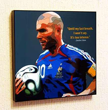 bf2ba83cb Image Unavailable. Image not available for. Color  Zinedine Zidane France  Football ...
