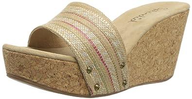 8547cf6f666 Amazon.com  Splendid Women s Greenville Wedge Sandal  Shoes