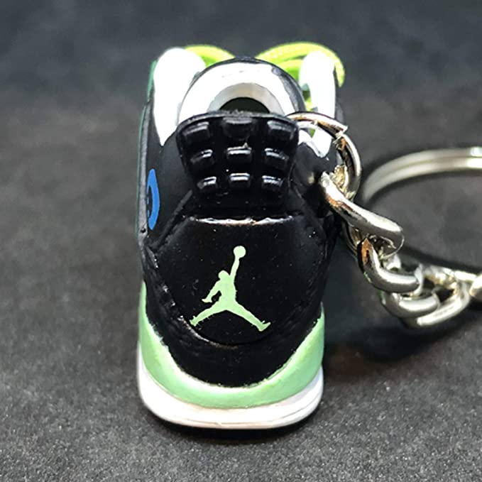 aef32f4e80d Amazon.com  Air Jordan IV 4 Retro DB Doernbecher Superman OG Sneakers Shoes  3D Keychain 1 6 Figure  Everything Else