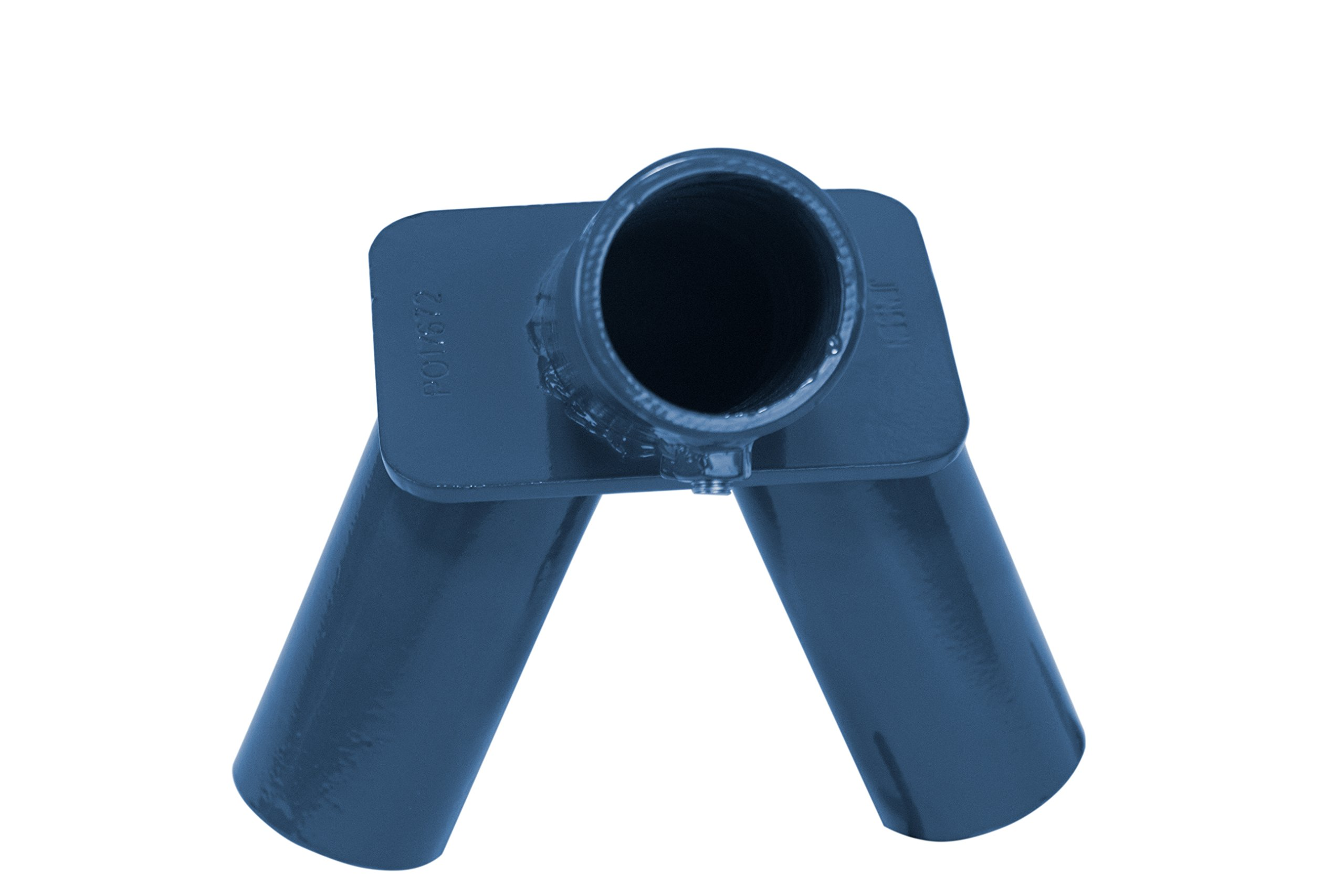 American Swing Blue End Frame Fitting For 2 3/8'' Pipe