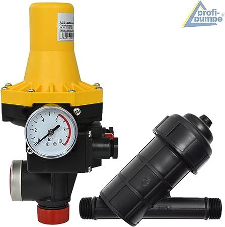 Automatisch Pumpensteuerung Druckschalter Automatik Presscontrol Wasser Pumpe