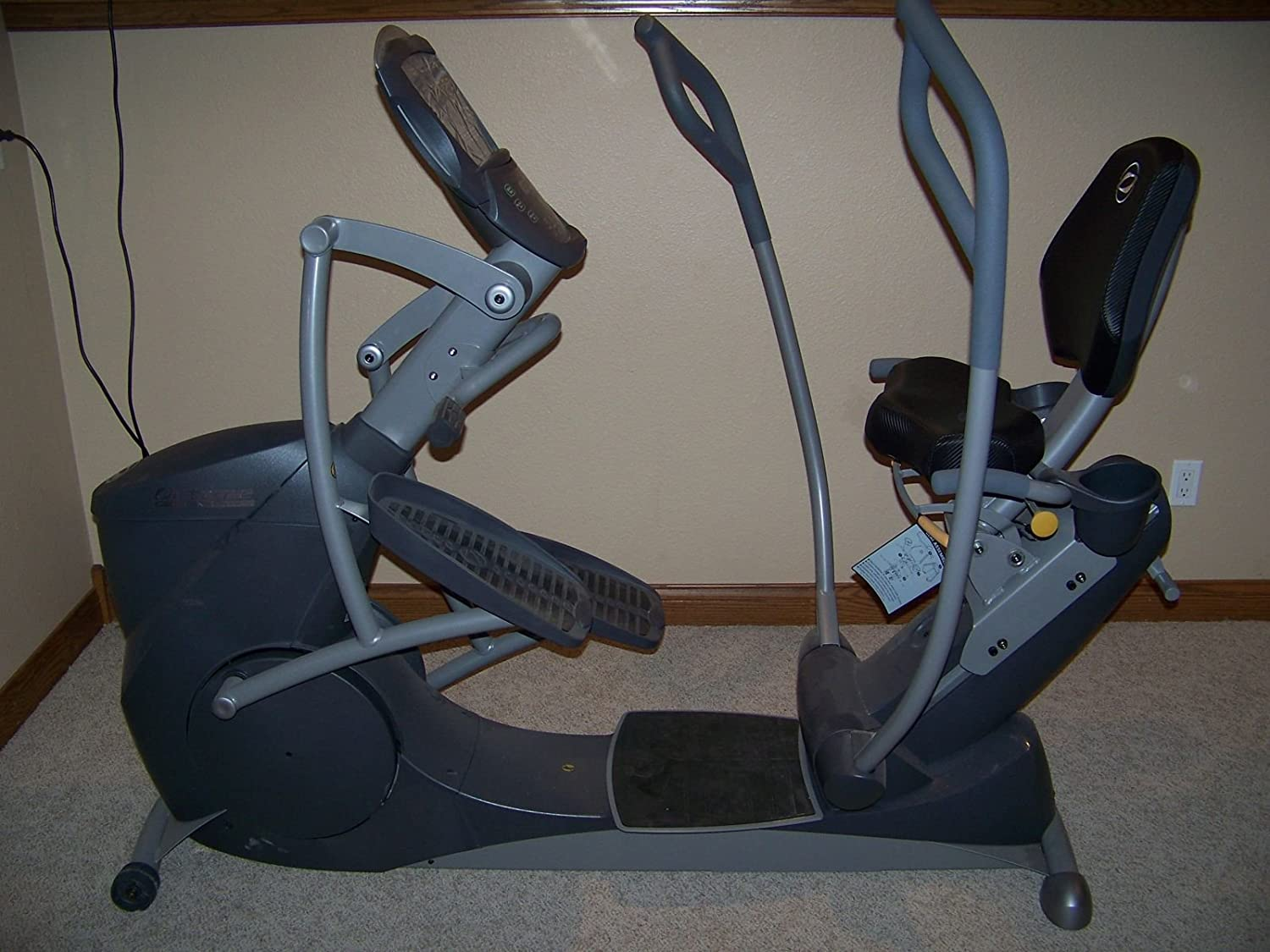 Amazon.com : Octane Fitness Xride XR6ce Seated Elliptical Cross Trainer : Sports & Outdoors