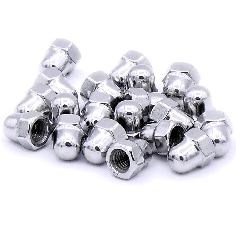 M5 Hutmuttern aus Edelstahl, 5 mm, 20 Stü ck Singularity Supplies Ltd