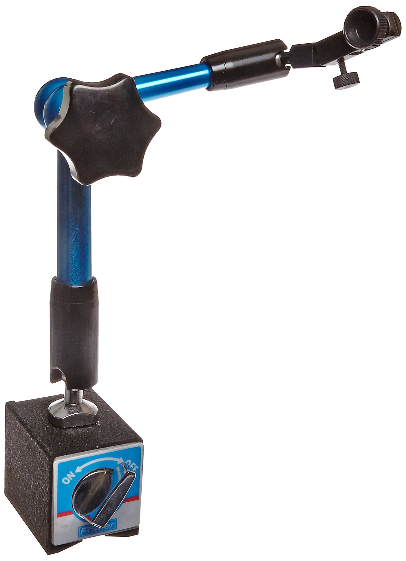 Fowler 52-585-095 Hydraulic Arm Magnetic Base, 180lbs Pulling Power