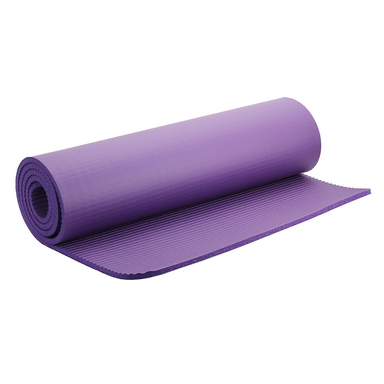merssavo alfombra de Yoga Pilates colchón 10 mm de grosor ...