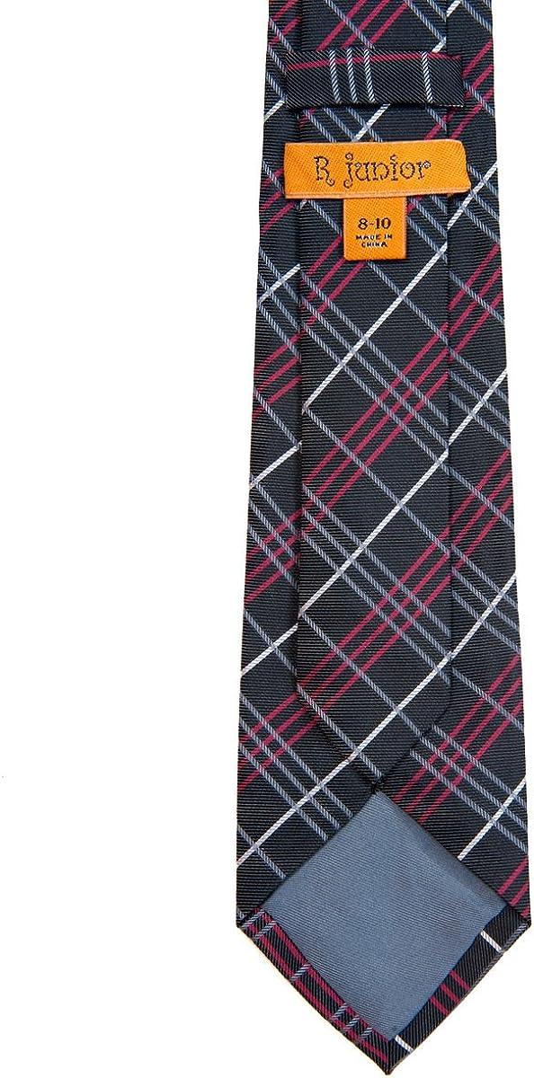 8-10 years Various Colors Retreez Tartan Plaid Styles Woven Boys Tie