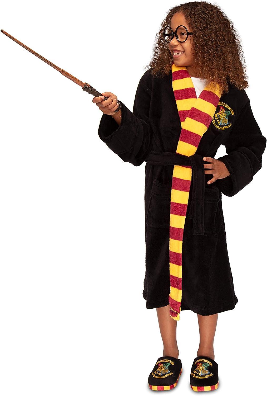 Harry Potter Hogwarts Crest Kids Bathrobe//Dressing Gown