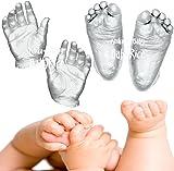 BabyRice Anika-Baby 12 Casts/Large Baby Casting Kit (Metallic Silver)