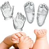 BabyRice Anika-Baby 12 Casts/ Large Baby Casting Kit (Metallic Silver)