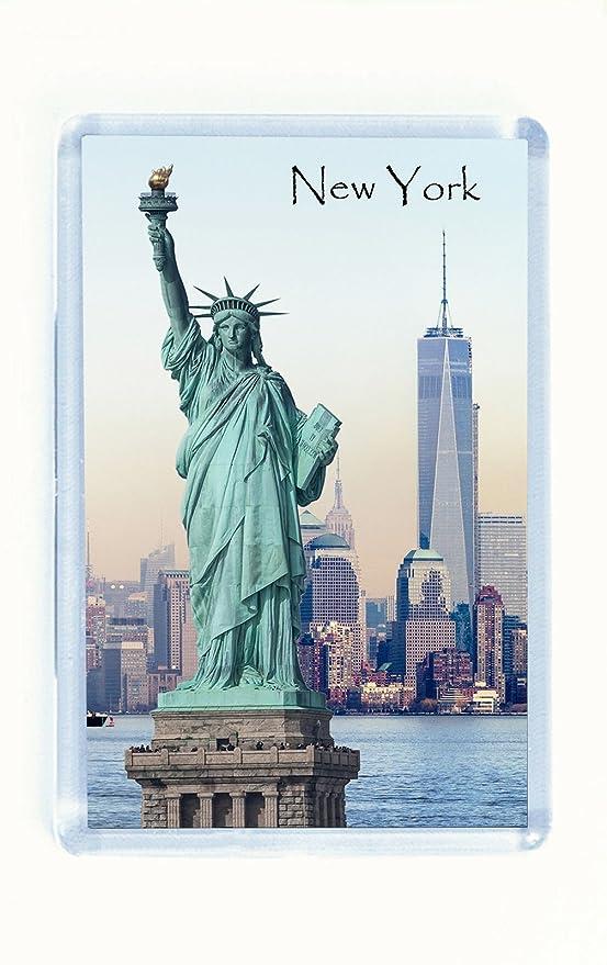Imán para nevera, diseño de Nueva York, Estatua de la Libertad ...