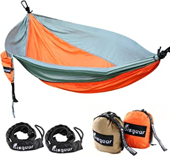 Bisgear XL Double & Single Camping Hammock