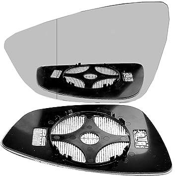 passenger side wing door clip mirror glass Sciroo Heated # VoSci//I04-2015310//590 Left hand