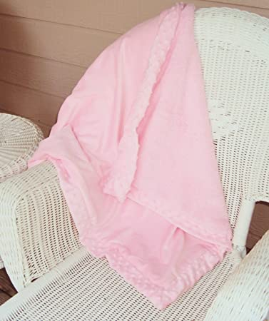 Amazon.com: Bebé Softie – Manta en color rosa: Baby