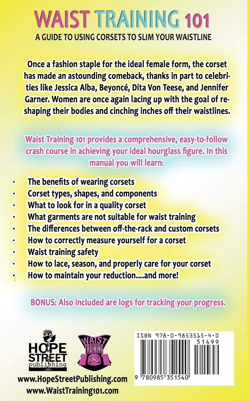 b836a6a583 Waist Training 101  A Guide to Using Corsets to Slim Your Waistline  Vanna B.   9780985351540  Amazon.com  Books
