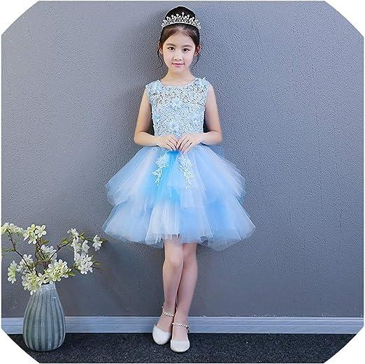 Baby Kid Wedding Flower Girl Dress First Communion Prom Birthday Party Dresses