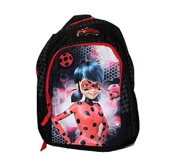 Mochila Niña Escolar Infantil Lady Bug Negra Miraculous 44x34x15: Amazon.es: Equipaje