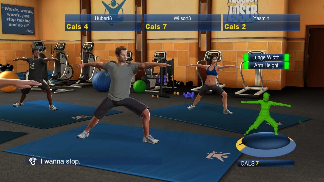 The Biggest Loser Ultimate Workout Xbox 360 Video Games Control Circuit Training Course Length Is Customizable Based On Your
