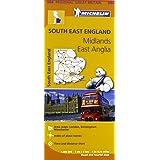 South East England, the Midlands, East Anglia
