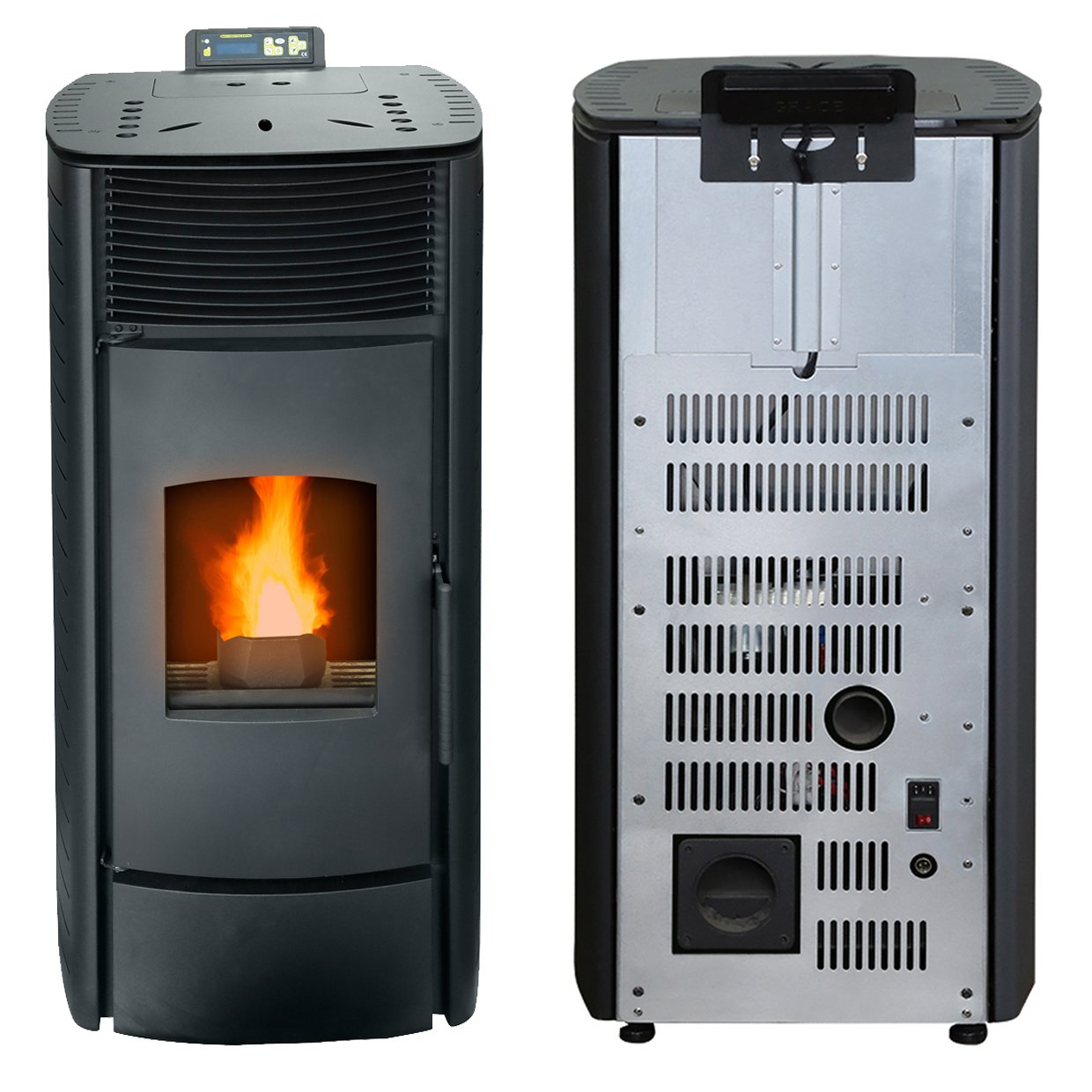 Can you hook up a pellet stove to a chimney