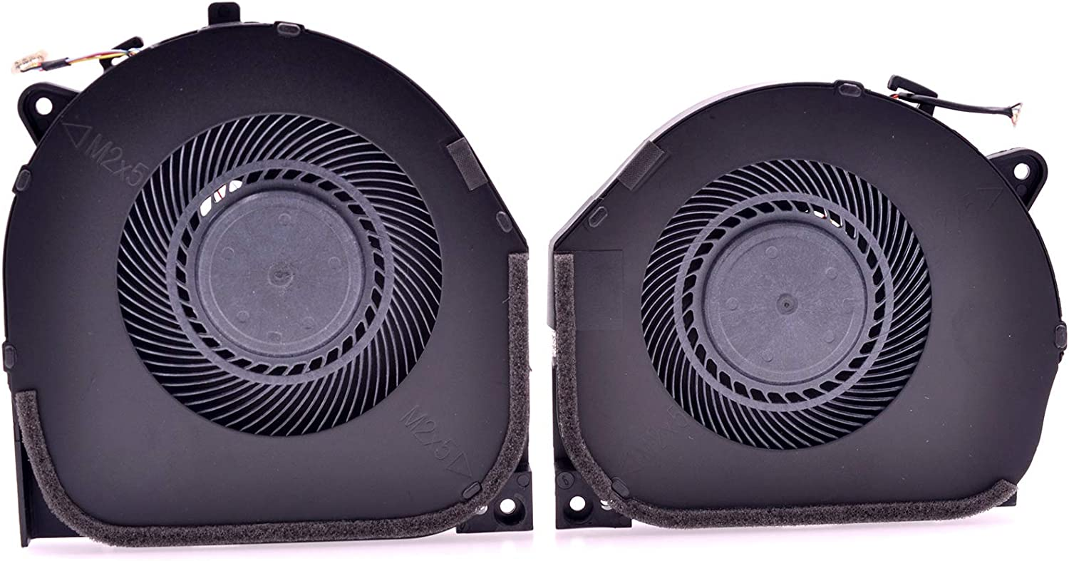 Deal4GO New CPU Fan and GPU Cooling Fan Replacement for Lenovo Legion Y7000 Y7000P Y530 Y530-15ICH DC28000DKF0