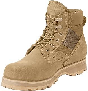 Amazon.com  Army Universe Black GI Style Military Combat Boots 5075 ... d34da6280e