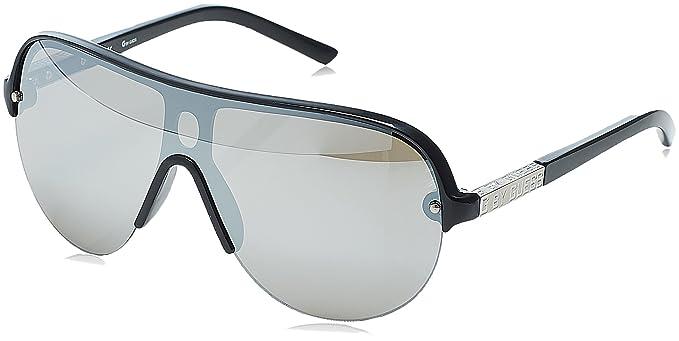 Guess Herren Sonnenbrille GG2041_C44, Schwarz (Nero/Grigio), 64