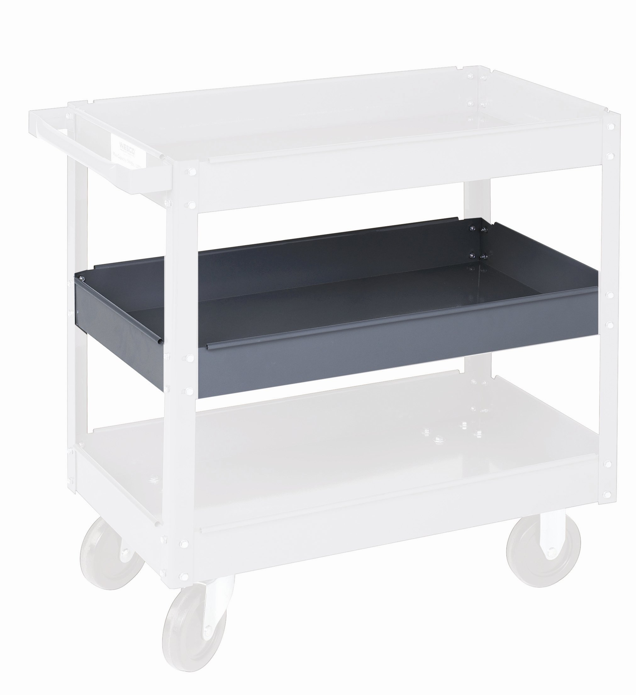 16 x 30 Optional Middle Shelf for Steel Service Cart for SC1630