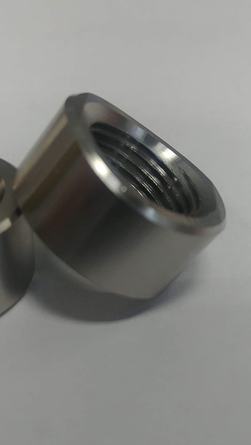 Stainless Coped Style O2 Sensor Bung 3 Tube