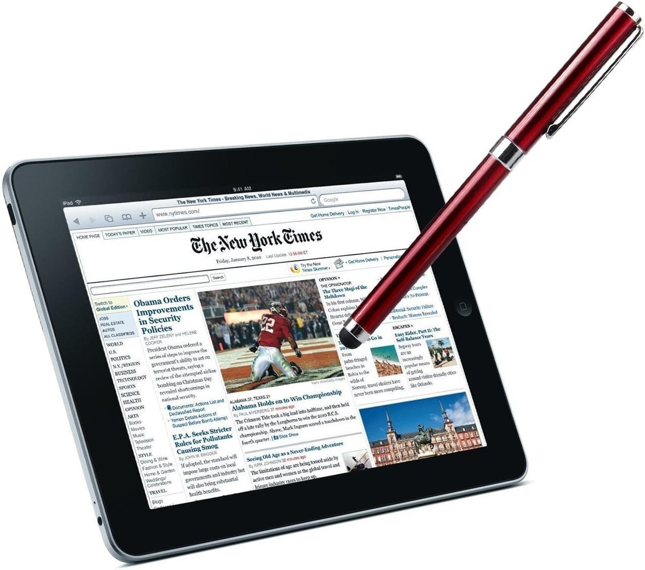 Silver Premium Motorola XT1562 SmartPhone Stylus Custom Pen 3 Pack!