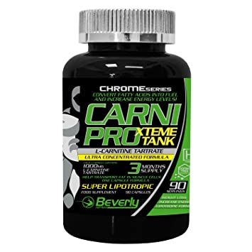 Beverly Nutrition Exclusive For ABSat40 Carni Pro Xtreme Tank - highly effective energizer and fat burner