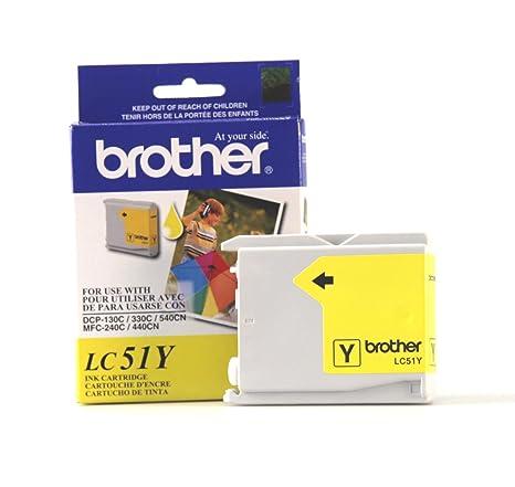 Amazon.com: Brother Innobella LC51Y cartucho de tinta, 400 ...