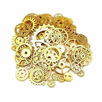 Sseell Lotto Da 80 Unità Di Pezzi Vintage Colore Oro Tipo