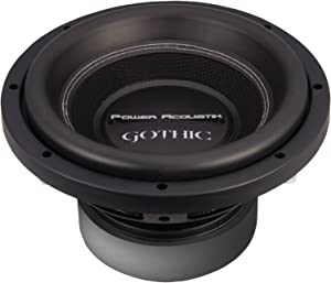 Power Acoustik GW3-10 Gothic Series 2O Dual Voice-Coil Subwoofer (10