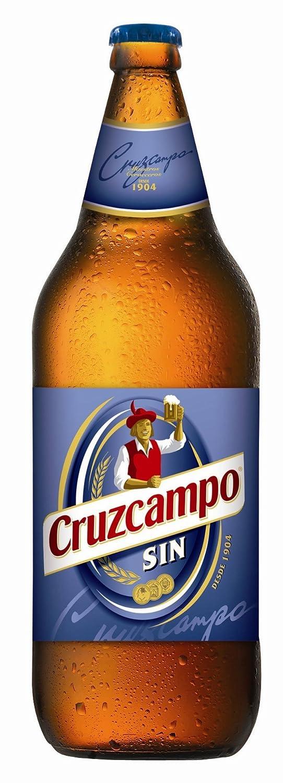 Cruzcampo Cerveza sin Alcohol - 1 Botella: Amazon.es ...
