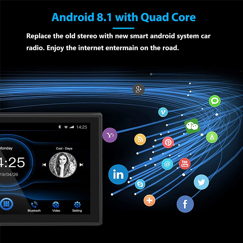Ezonetronics 7 Inch Android 8 1 Car Stereo Control Unit Elektronik
