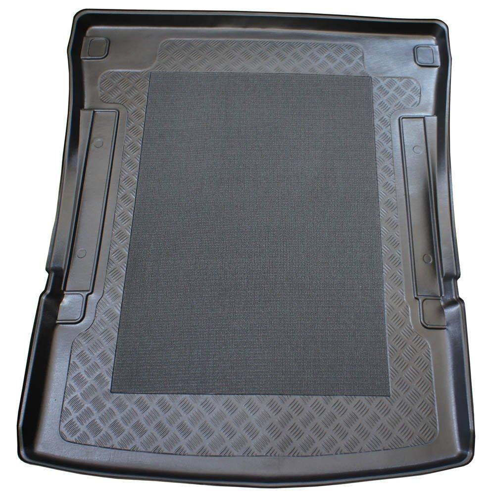 ZentimeX Z995744 Vasca baule su misura con superficie scanalata e integrato tappeto antiscivolo