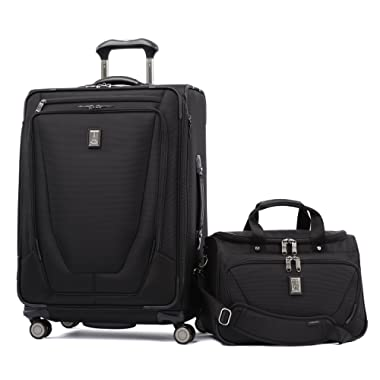 Travelpro Crew 11 2 Piece Set (25  Spinner and Deluxe Tote)