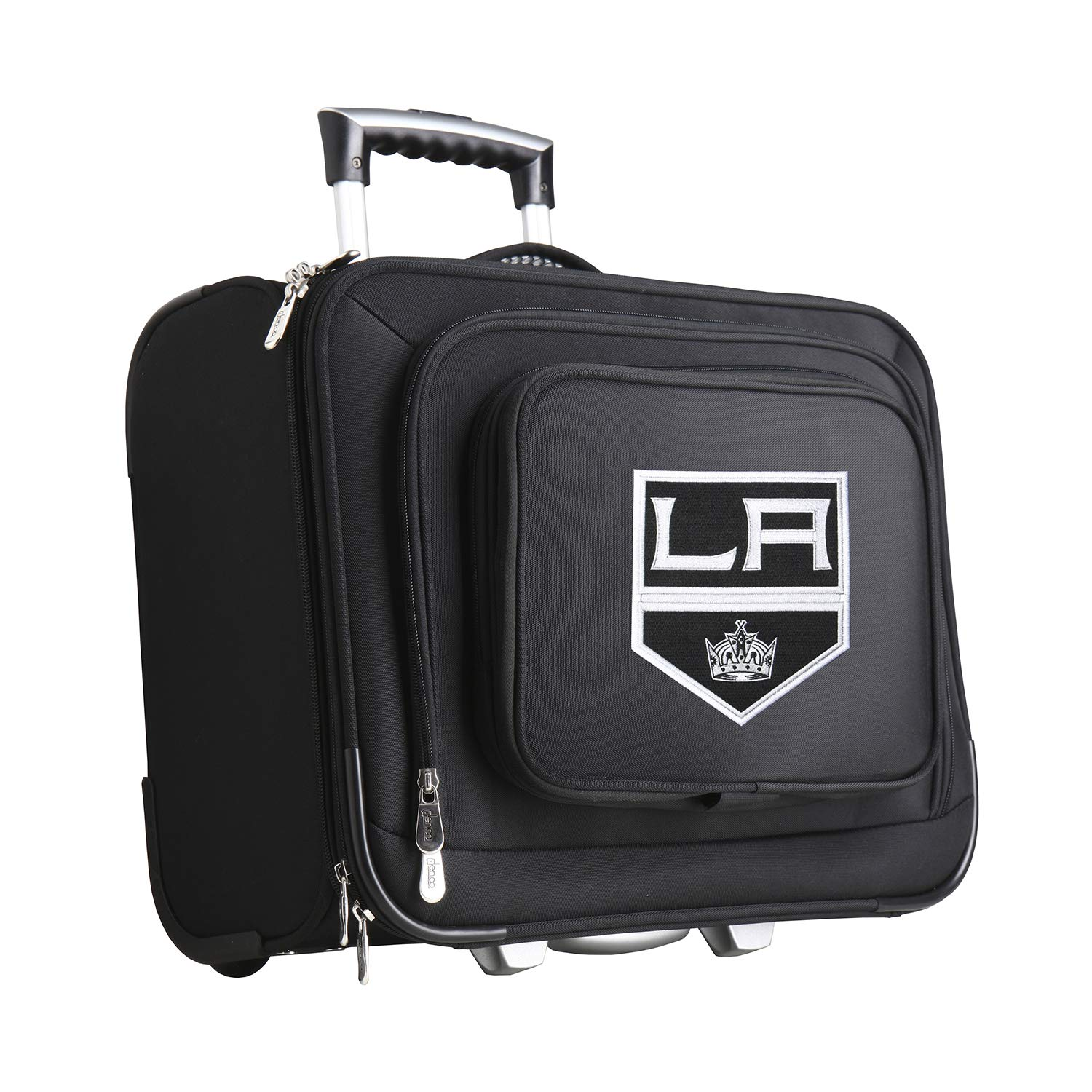 NHL Dallas Stars Wheeled Laptop Overnighter Denco Luggage NHSTL501