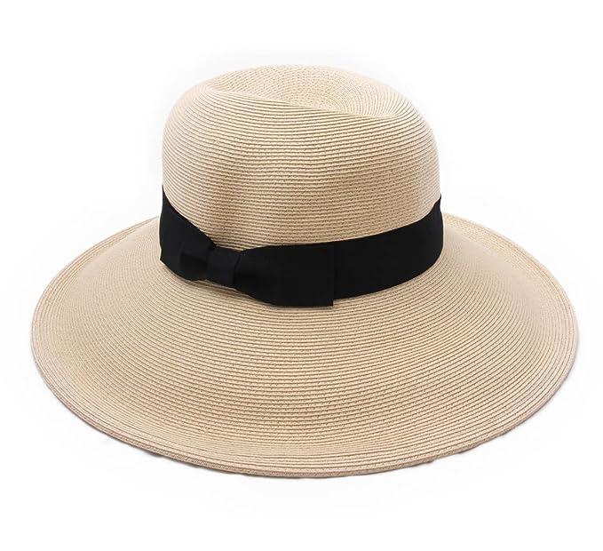 IDHATS - Cappello a falda larga donna Jacquetelae - beige