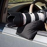 Enjoydeal Camera Bean Bag ,Universal Portable Unfilled Rear Bench Rest Bag Sandbag for Camera