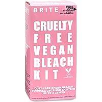 Brite Bleach Kit - Ammonia-Free Formula Lifts & Lightens Up To 8 Shades - Includes Developing Cream, Lightening Cream…