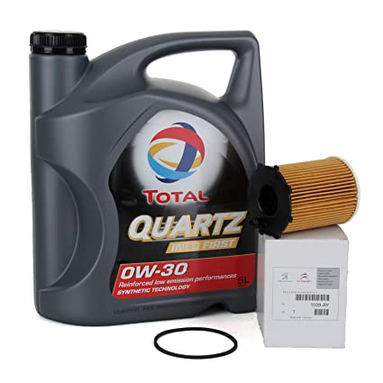 PACK ORIGINAL DUO aceite motor Total Quartz Ineo First 0W-30 ...