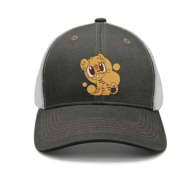 srygjukuu Style Lion Tiger Cartoon Baseball Hats Cute mesh Cap at ... 00edcea766b