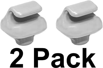 New Plastic Gray Sun Visor Clip For Honda Accord 1998-2007 Civic 1996-2004
