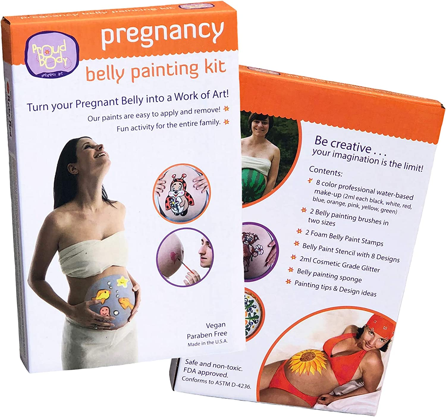 Amazon Com Proud Body Belly Art Belly Paint Baby