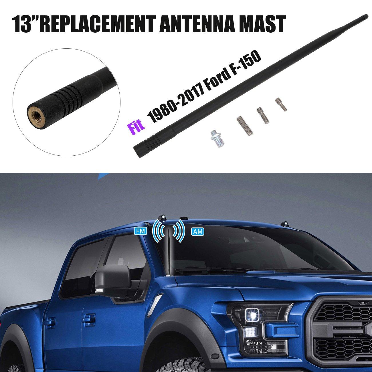 13 Short Custom Antenna Mast for Ford F-150 1980-2017