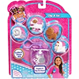 Puppy Surprise 48183 Puppy In My Pocket Puppies with Clip-on Pouch Toy Figure by Just Play