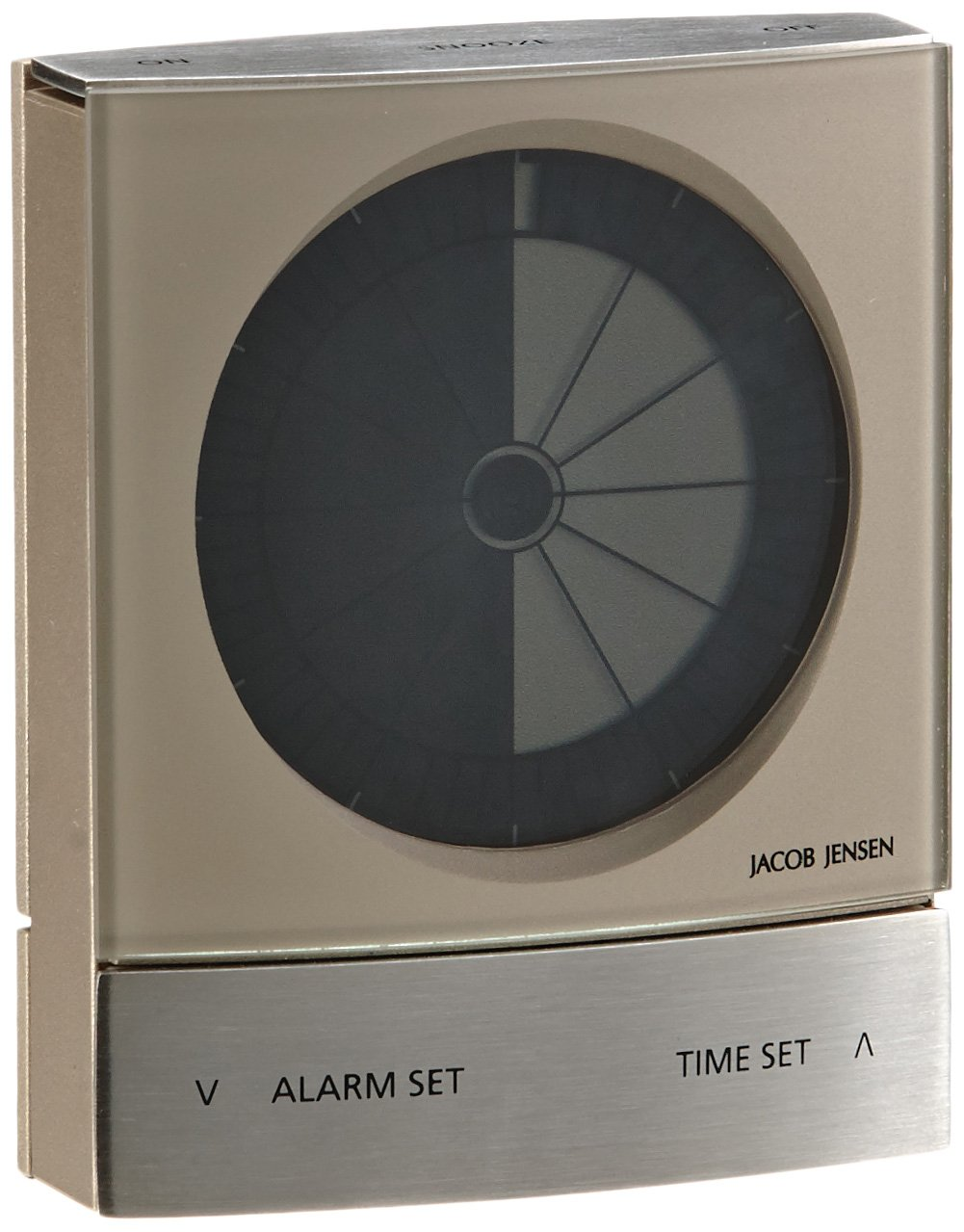 jacob jensen timer clock warm silver ebay. Black Bedroom Furniture Sets. Home Design Ideas