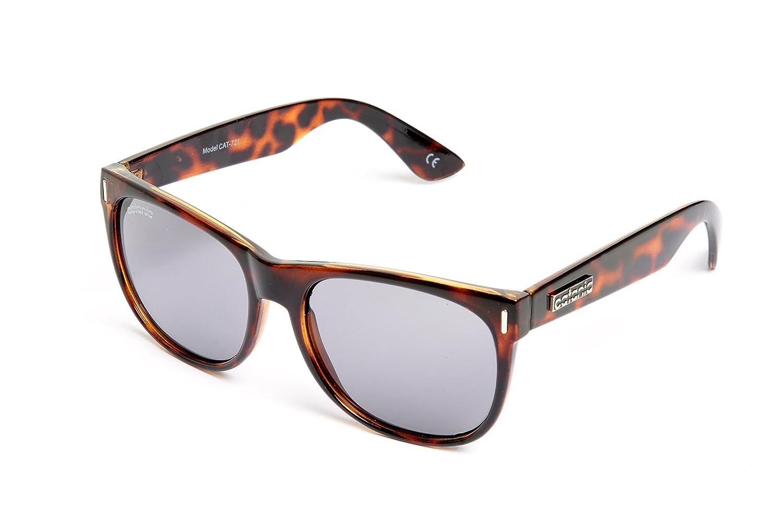 Catania Occhiali Gafas de Sol - Modelo Wayfarer Vintage (UV400) - Unisex Gafas de Sol (Para Hombre y Para Mujer) kT2RAe9